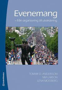 bokomslag Evenemang : från organisation till utvärdering