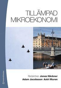 bokomslag Tillämpad mikroekonomi