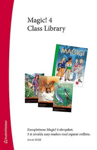 bokomslag Magic! 4 Class Library - Easy Readers (3 st) med ordlista