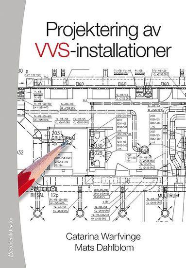 bokomslag Projektering av VVS-installationer