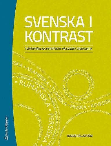 bokomslag Svenska i kontrast