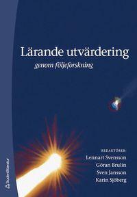 bokomslag Lärande utvärdering : genom följeforskning