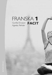 bokomslag Franska 1 Facit
