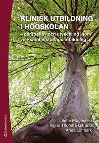 bokomslag Klinisk utbildning i högskolan : perspektiv och utveckling inom verksamhetsförlagd utbildning