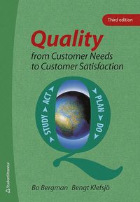 bokomslag Quality from Customer Needs to Customer Satisfaction