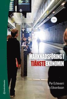 bokomslag Marknadsföring i tjänsteekonomin