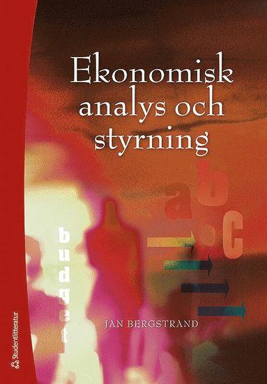 bokomslag Ekonomisk analys och styrning