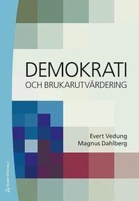 bokomslag Demokrati och brukarutvärdering