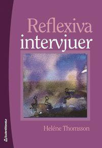 bokomslag Reflexiva intervjuer