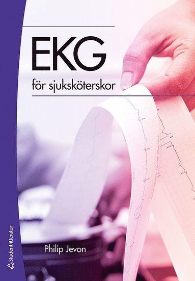 bokomslag EKG för sjuksköterskor