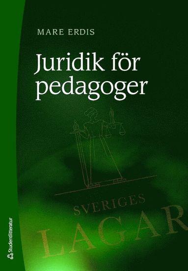 bokomslag Juridik för pedagoger