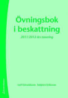 bokomslag Övningsbok i beskattning
