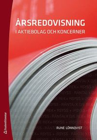 bokomslag Årsredovisning i aktiebolag och koncerner
