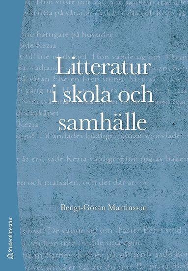 bokomslag Litteratur i skola och samhälle