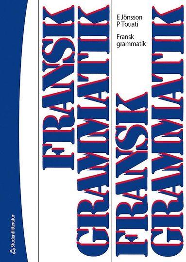 bokomslag Fransk grammatik