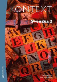 bokomslag Kontext Svenska 1