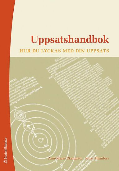 bokomslag Uppsatshandbok : hur du lyckas med din uppsats