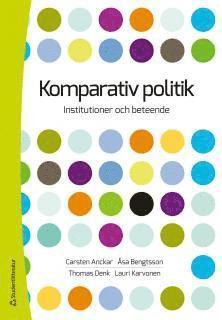 bokomslag Komparativ politik - Institutioner och beteende