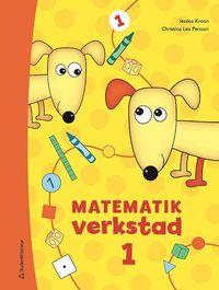 bokomslag Matematikverkstad 1