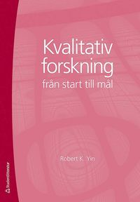bokomslag Kvalitativ forskning från start till mål