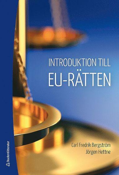 bokomslag Introduktion till EU-rätten
