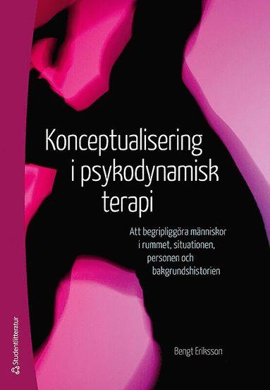 bokomslag Konceptualisering i psykodynamisk terapi : att begripliggöra människor i rummet, situationen, personen och bakgrundshistorien
