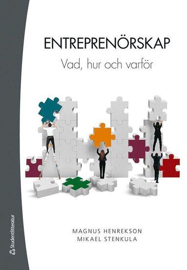 bokomslag Entreprenörskap - Vad, hur och varför