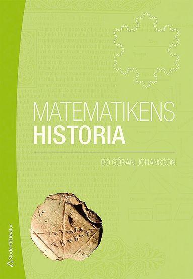 bokomslag Matematikens historia