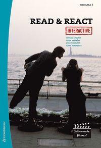 bokomslag Read & React Interactive Elevpaket - Digitalt + Tryckt - Engelska 5