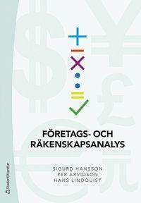 bokomslag Företags- och räkenskapsanalys