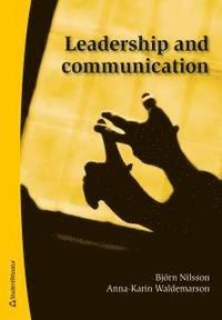 bokomslag Leadership and communication