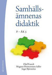 bokomslag Samhällsämnenas didaktik - F - åk 3