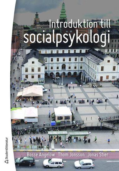 bokomslag Introduktion till socialpsykologi