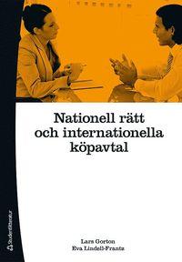 bokomslag Nationell rätt och internationella köpavtal