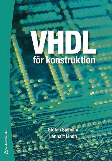 bokomslag VHDL för konstruktion