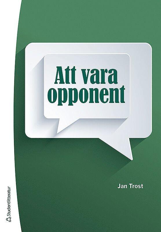 Att vara opponent 1