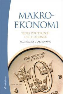 bokomslag Makroekonomi - Teori, politik och institutioner (bok + digital produkt)