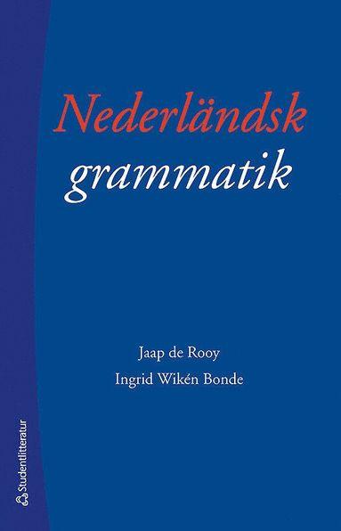 bokomslag Nederländsk grammatik