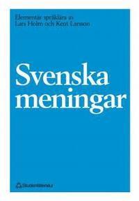 bokomslag Svenska meningar