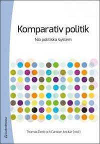 bokomslag Komparativ politik : nio politiska system