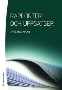 bokomslag Rapporter och uppsatser