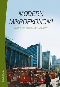 bokomslag Modern mikroekonomi : marknad, politik och välfärd