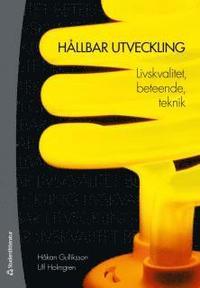 bokomslag Hållbar utveckling : livskvalitet, beteende, teknik