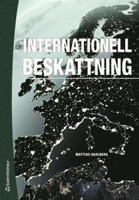 bokomslag Internationell beskattning