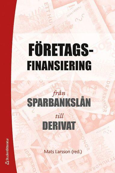 bokomslag Företagsfinansiering : från sparbankslån till derivat