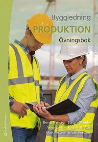 bokomslag Byggledning  : produktion - övningsbok