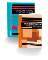 bokomslag Ekonomistyrning - paket - Faktabok och övningsbok