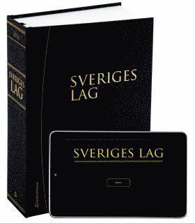 bokomslag Sveriges lag 2016 : innehåller författningar som trätt i kraft per den 1 januari 2016