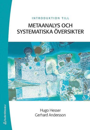 bokomslag Introduktion till metaanalys och systematiska översikter