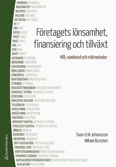 bokomslag Företagets lönsamhet, finansiering och tillväxt : mål, samband och mätmetoder